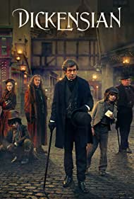Stephen Rea, Peter Firth, Anton Lesser, Bethany Muir, and Wilson Mbomio in Dickensian (2015)