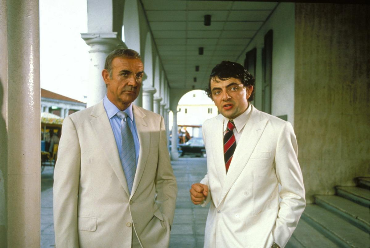 Image result for rowan atkinson, never say never again