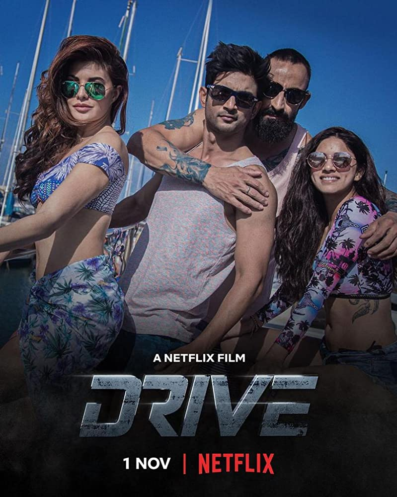 Drive (2019) Hindi Movie Official Trailer 720p HDRip