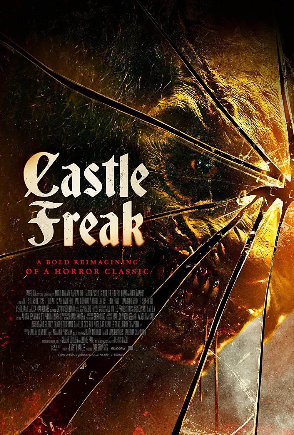 18+ Castle Freak 2020 English 720p HDRip 797MB Download