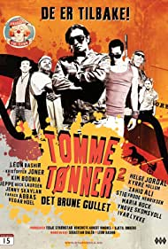 Kim Bodnia, Leon Bashir, Jeppe Beck Laursen, and Farack Abbas in Tomme tønner 2 - Det brune gullet (2011)
