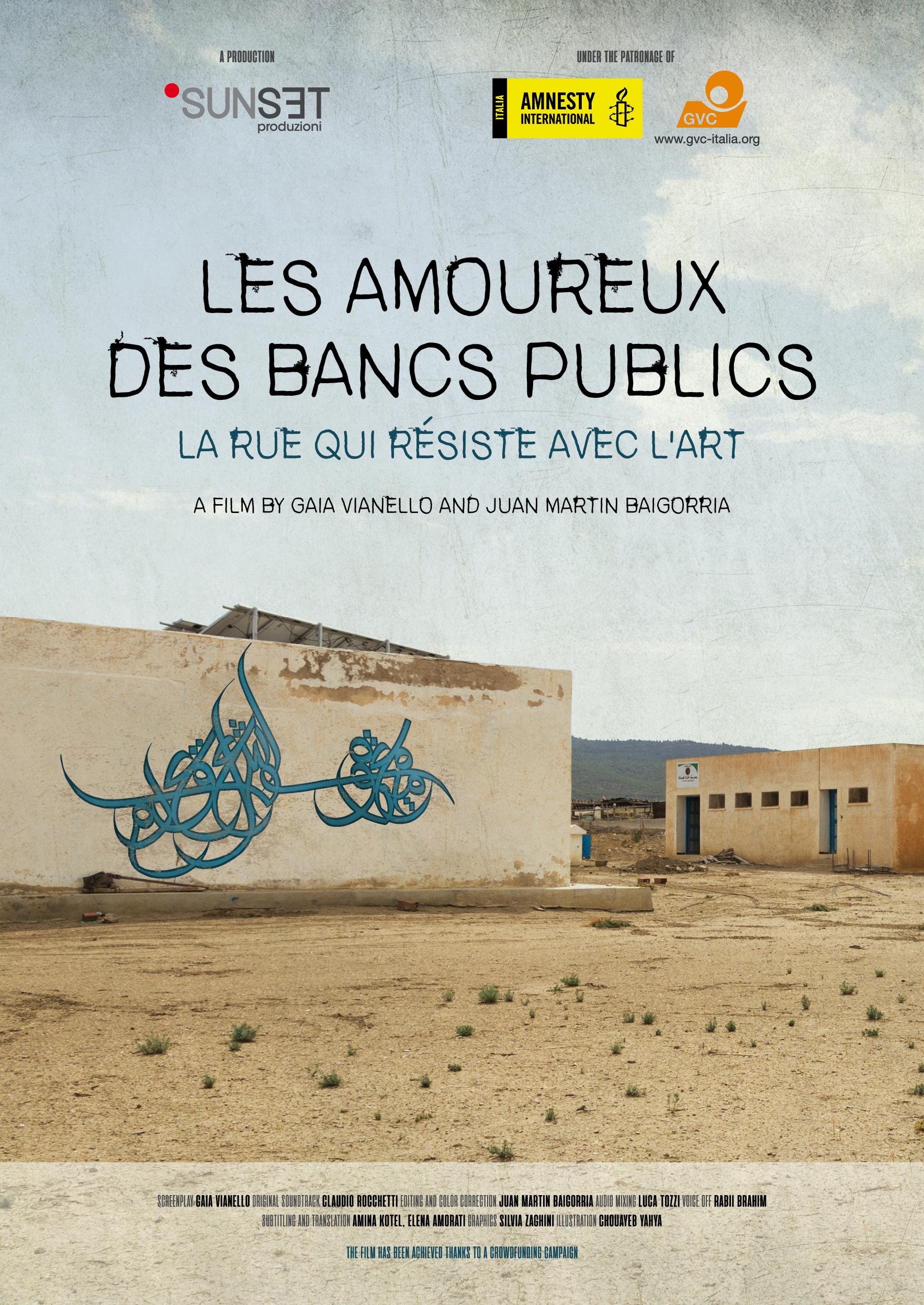 Les Amoureux Des Bancs Publics A Story Of Street Art And