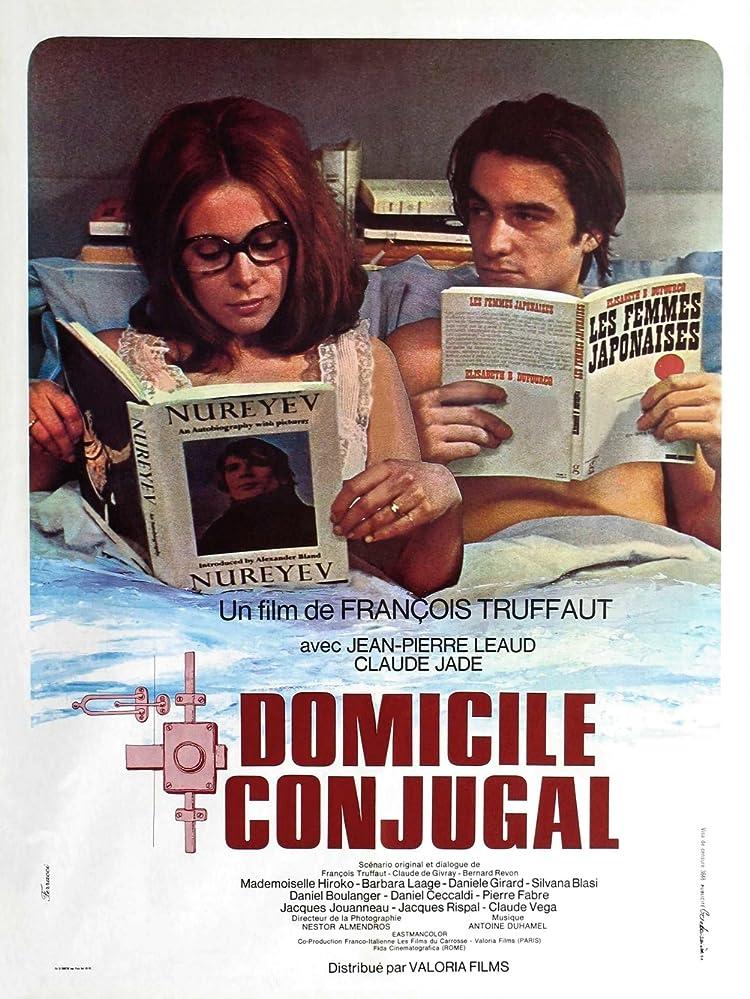 Claude Jade and Jean-Pierre Léaud in Domicile conjugal (1970)
