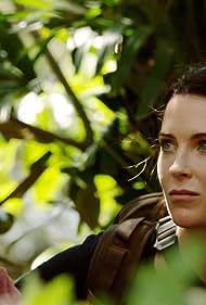 Bren Foster, Bridget Regan, and Jodie Turner-Smith in The Last Ship (2014)