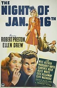 Watch free movie stream The Night of January 16th William Dieterle [hdrip]