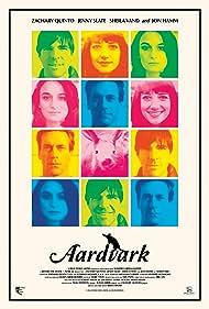Jon Hamm, Zachary Quinto, Sheila Vand, and Jenny Slate in The Making of Aardvark (2017)