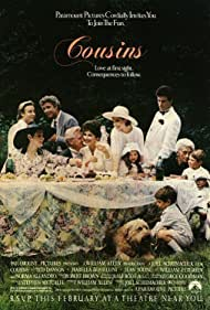 Isabella Rossellini, Sean Young, Lloyd Bridges, Ted Danson, Norma Aleandro, Keith Coogan, Gina DeAngeles, Katharine Isabelle, William Petersen, and David Robert Moore in Cousins (1989)
