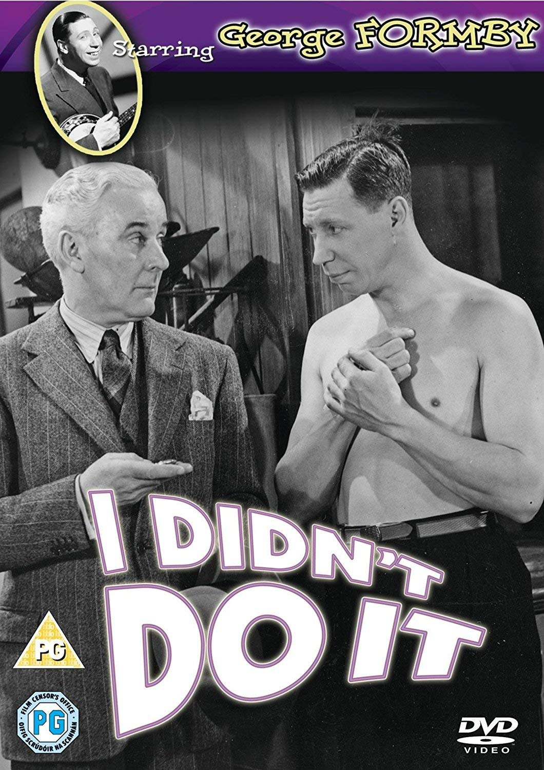 Ian Fleming and George Formby in I Didn't Do It (1945)