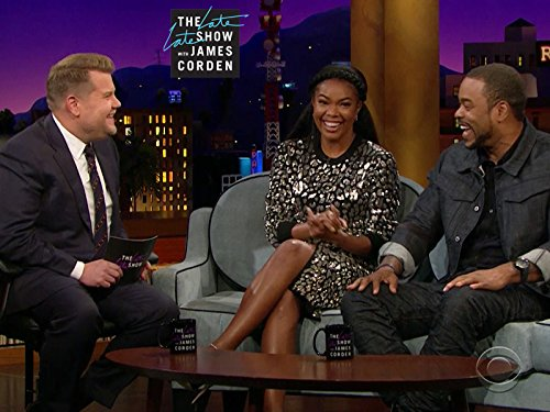 Gabrielle Union, James Corden, and Method Man in The Late Late Show with James Corden (2015)