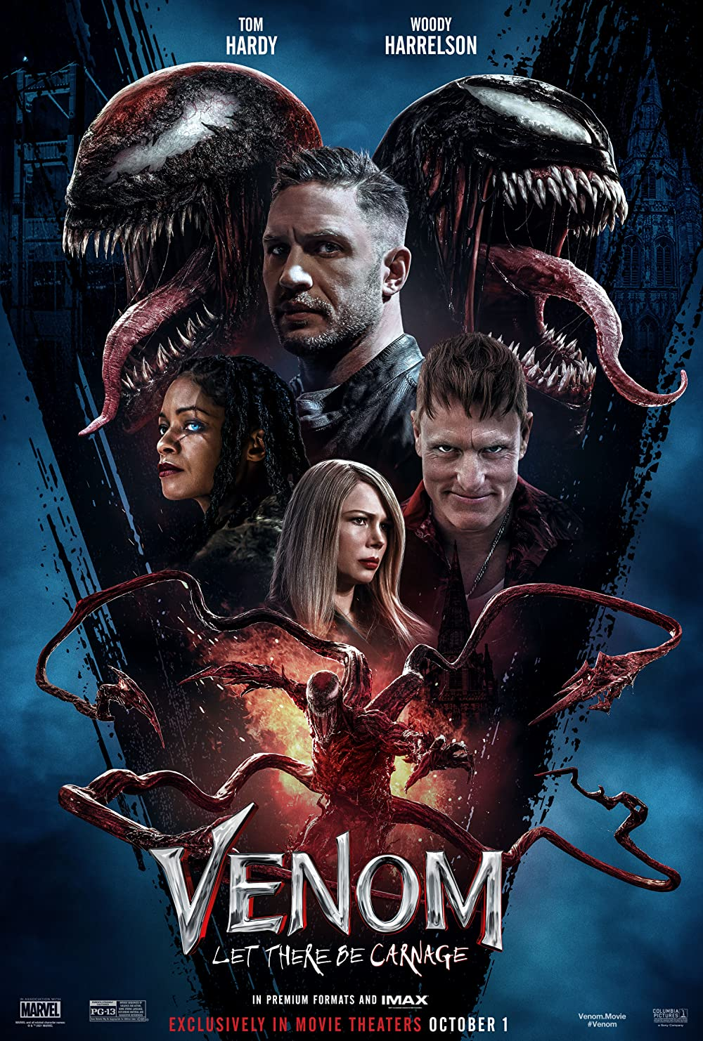 Venom 2 Let There Be Carnage 2021 Hindi Dubbed (Voice Over) 720p V2 HDCAM 685MB Download