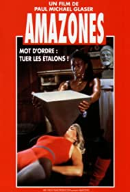 Stella Stevens and Tamara Dobson in Amazons (1984)