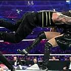 Stephanie McMahon and Joe Anoa'i in WrestleMania 32 (2016)