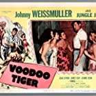 Jean Byron, Jean Dean, and Johnny Weissmuller in Voodoo Tiger (1952)