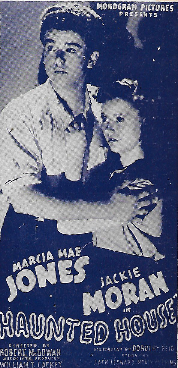 Marcia Mae Jones and Jackie Moran in Haunted House (1940)