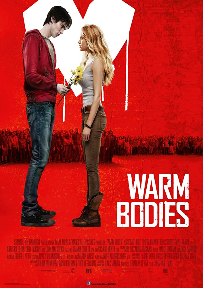 Warm Bodies 2013 Hindi ORG Dual Audio 380MB BluRay ESubs Download