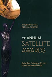 The 21st Annual Satellite Awards Poster