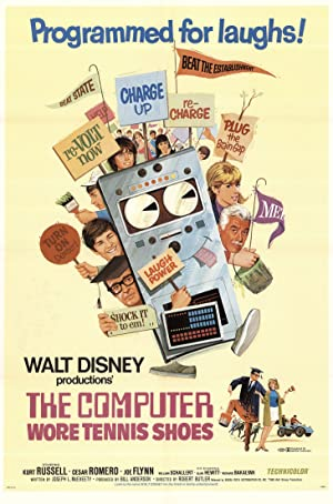 The Computer Wore Tennis Shoes Poster Image