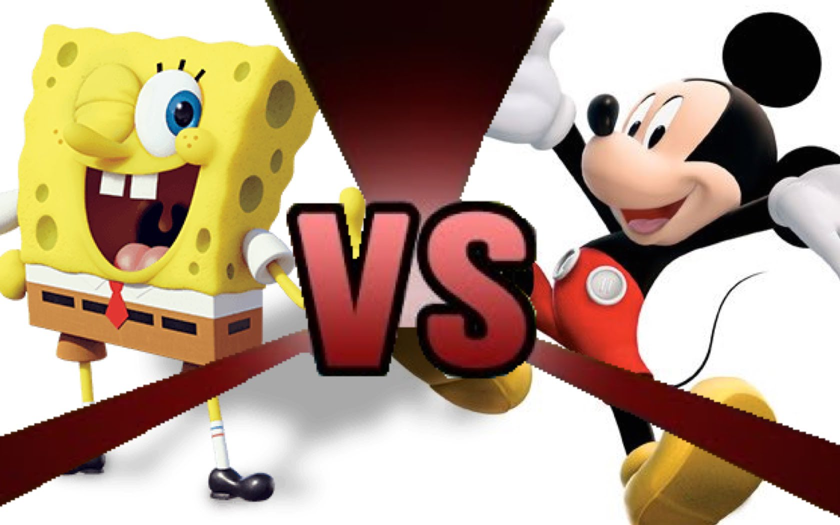 cartoon fight club spongebob squarepants vs mickey mouse tv