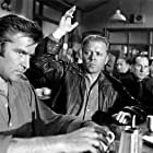 Richard Attenborough and Michael Craig in The Angry Silence (1960)