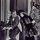 Claudette Colbert and Edward Everett Horton in Bluebeard's Eighth Wife (1938)