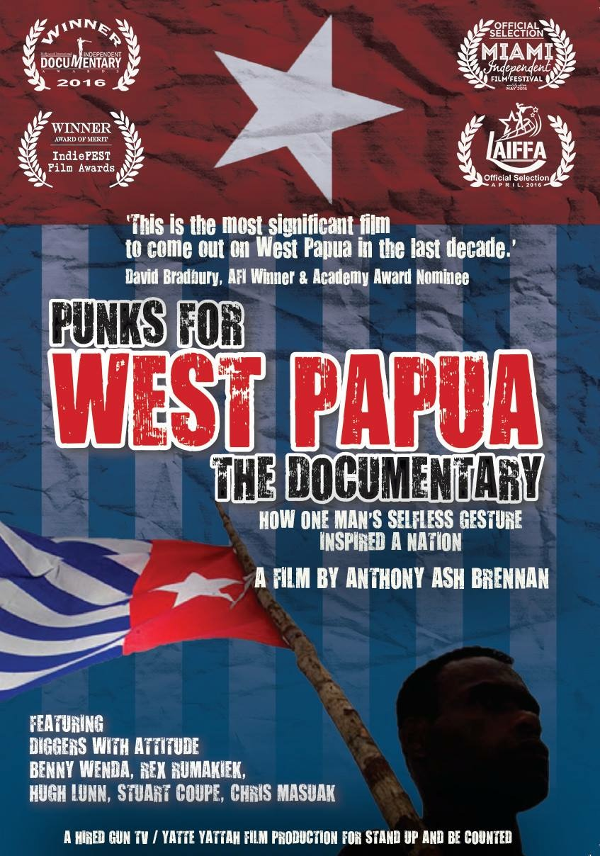 Punks for West Papua 2016
