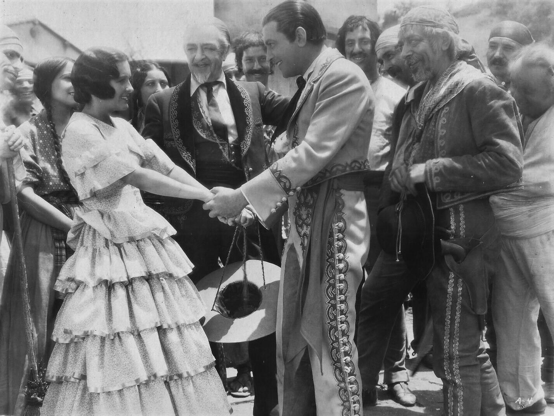 Richard Barthelmess and Marian Nixon in The Lash (1930)