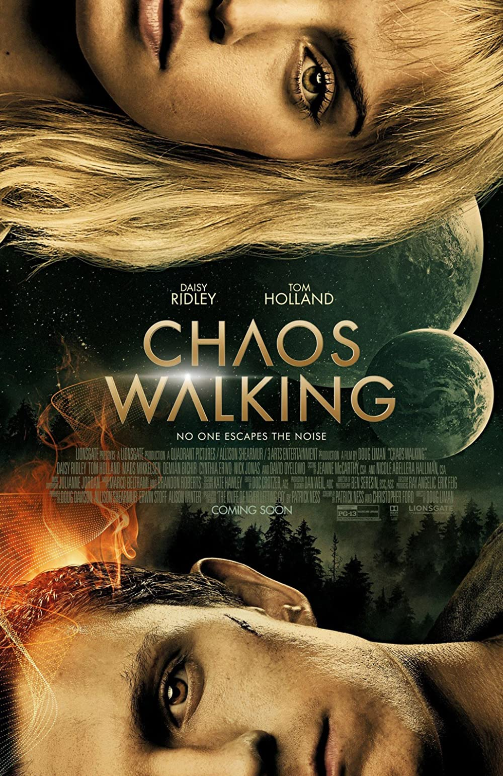 Chaos Walking 2021 English 720p HDCAM 800MB | 400MB x264 AAC