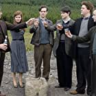 Robert Carlyle, Billy Boyd, Kate Mara, Stephen McCole, Charlie Cox, and Ciaron Kelly in Stone of Destiny (2008)