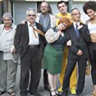 Christian Clavier, Raymond Bouchard, Pierre-François Martin-Laval, Isabelle Nanty, Fred Tousch, Arnaud Ducret, and Stéfi Celma in Les profs (2013)