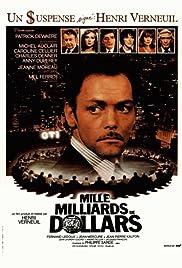 Mille milliards de dollars(1982) Poster - Movie Forum, Cast, Reviews