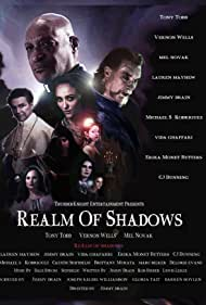 Lauren C. Mayhew, Cj Dunning, Jimmy Drain, Erika Monet Butters, and Michael S. Rodriguez in Realm of Shadows (2021)