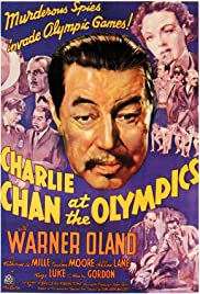 Charlie Chan at the Olympics Poster