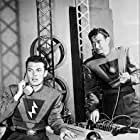 Ed Kemmer and Ken Mayer in Space Patrol (1950)