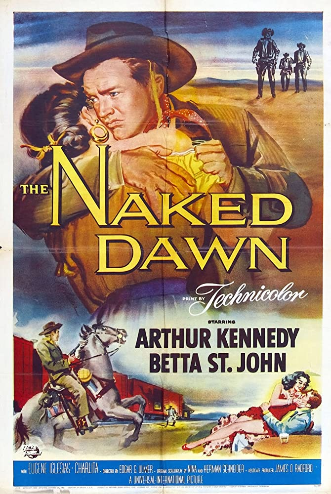 Charlita, Arthur Kennedy, and Betta St. John in The Naked Dawn (1955)
