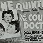 Annette Dionne, Cecile Dionne, Emilie Dionne, Marie Dionne, Yvonne Dionne, June Lang, Michael Whalen, and The Dionne Quintuplets in The Country Doctor (1936)