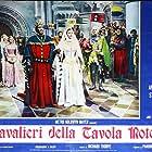 Ava Gardner, Mel Ferrer, and Felix Aylmer in Knights of the Round Table (1953)