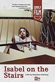 Isabel on the Stairs Poster