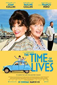 Joan Collins, Pauline Collins, and Franco Nero in The Time of Their Lives (2017)