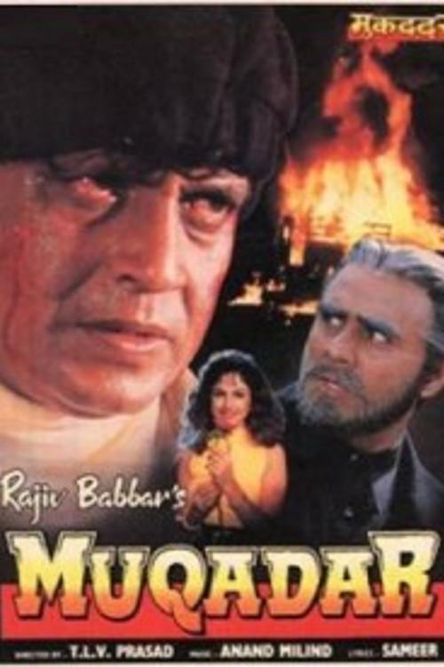 Muqaddar.1996 Hindi 720p HDRip x264 1.1GB
