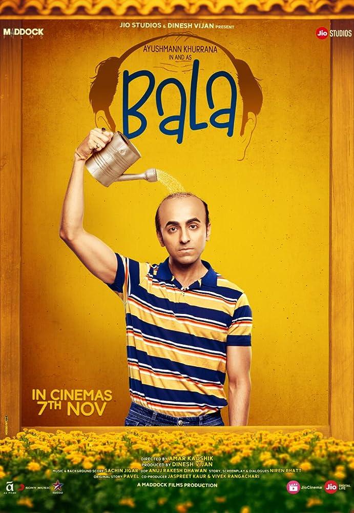 BALA (2019) Hindi ORG WEB-DL 1080p 720p