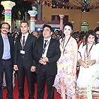 Shankar Mohan, Murad Hamidi, Sabruddin Rahmani, Seddiq Abedi, and Tahmina Rajabova at an event for A Man's Desire for Fifth Wife (2012)