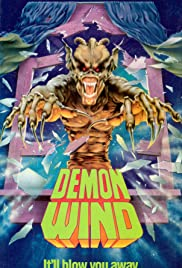 Demon Wind (1990) Poster - Movie Forum, Cast, Reviews