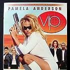 Pamela Anderson, Natalie Raitano, and Shaun Baker in V.I.P. (1998)