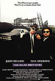 John Belushi and Dan Aykroyd in The Blues Brothers (1980)