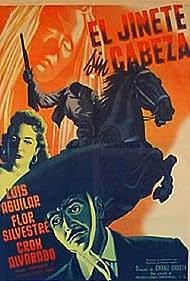 Luis Aguilar and Flor Silvestre in El jinete sin cabeza (1957)