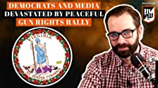 Demócratas y medios de comunicación devastados por una reunión pacífica de derechos de armas