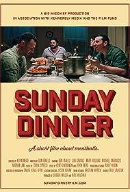 Jon Gabrus, Michael Antonucci, Don Fanelli, and Mary Holland in Sunday Dinner (2020)