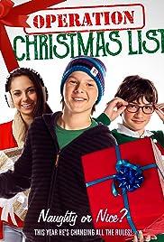 Operation Christmas List Poster