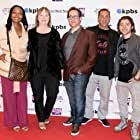 Marc Fusco, Malina Moye, Ryan Ochoa, Steve Weinberger, and Jane Hare at an event for The Samuel Project (2018)
