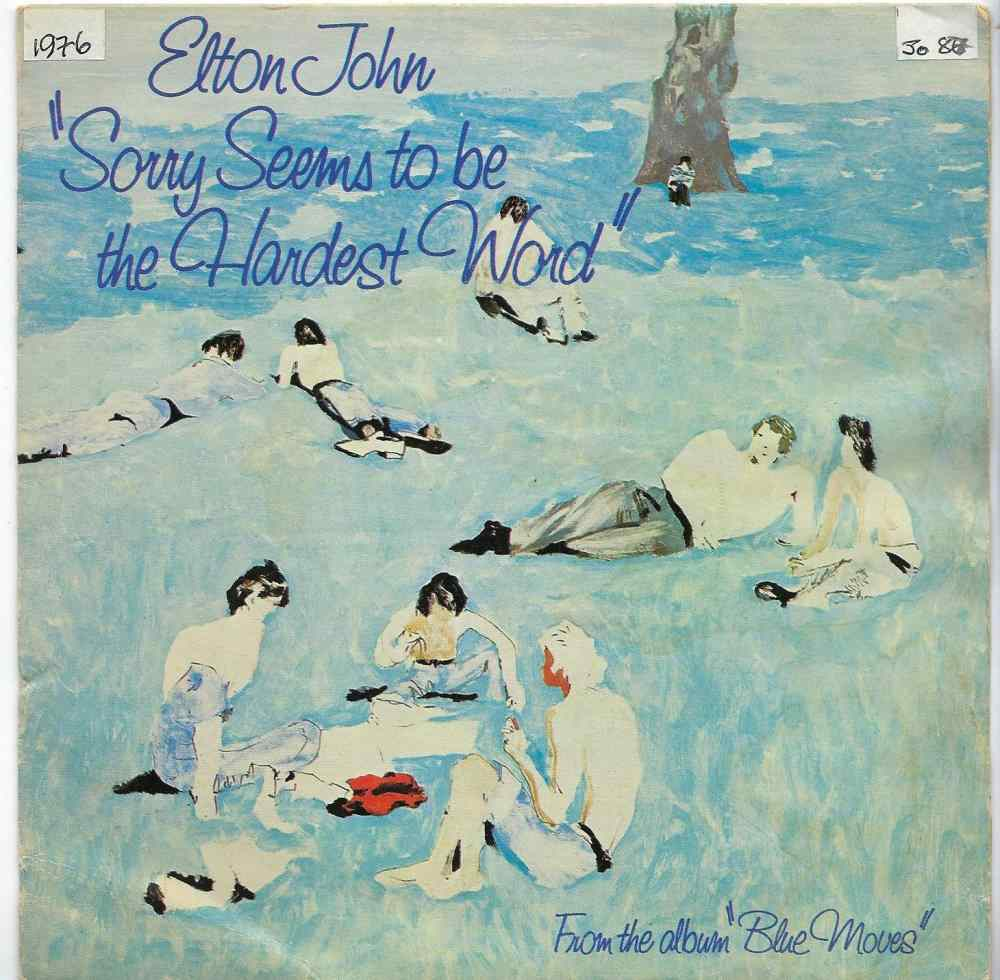 Elton John: Sorry Seems to Be the Hardest Word (1976)